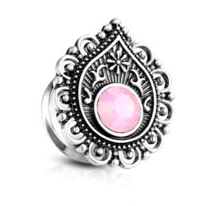 double-flared-plug-opal-pink
